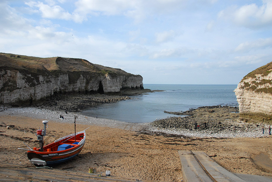 Photograph EBB TIDE at FLAMBOROUGH'S SMUGGLER'S COVE... by Magda Indigo on 500px