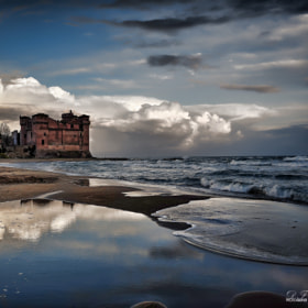 Castle of Santa Severa by Daniele Forestiere (DaFo)) on 500px.com