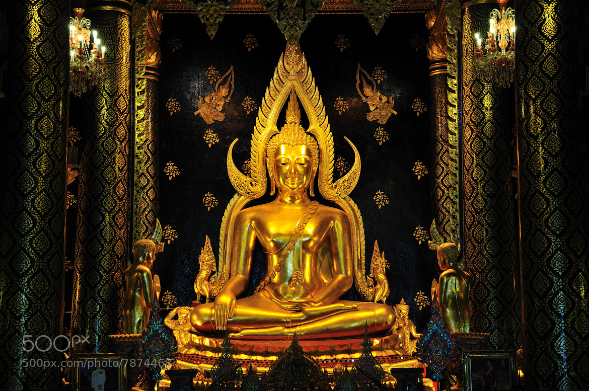 Photograph Chinnarat Buddha by Photos of Thailand on 500px