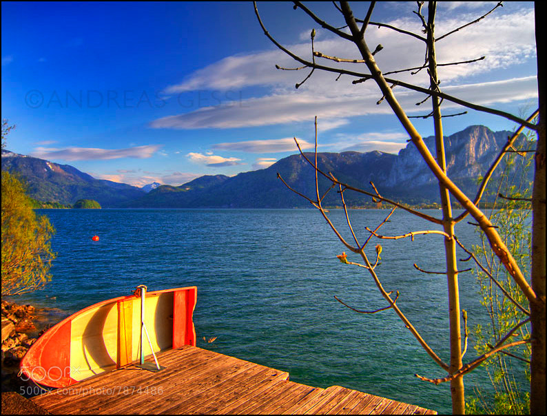Photograph mondsee hdr by Andreas Gessl on 500px