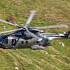 ������, ������: RAF Merlin ZJ129 low level at Kirkstone Pass