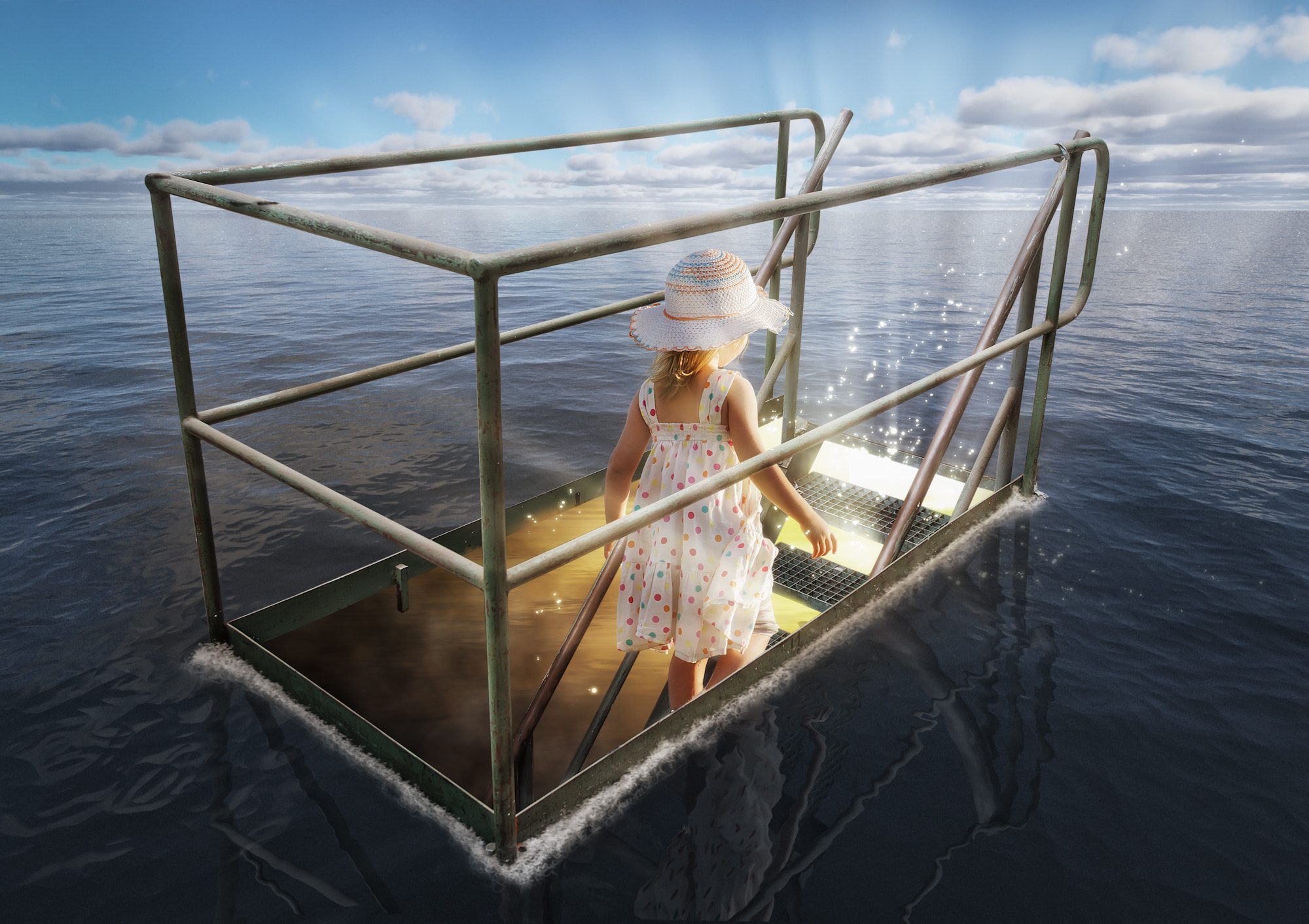 Photograph The Girl from Atlantis by John Wilhelm is a photoholic on 500px