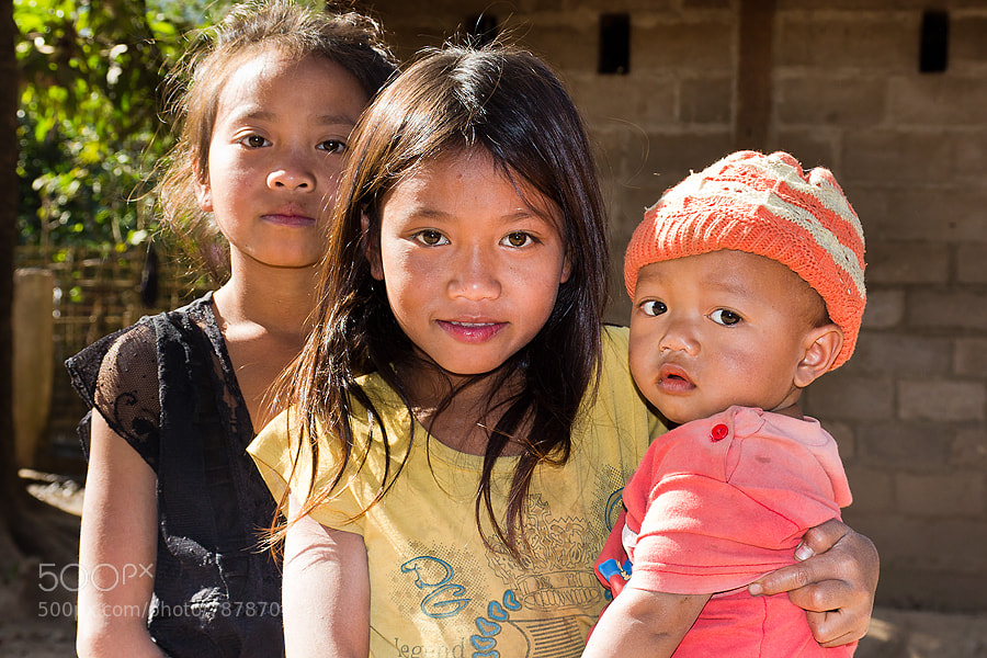 Photograph Lao children by Christer Häggqvist on 500px