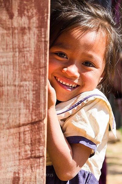 Photograph Lao girl by Christer Häggqvist on 500px