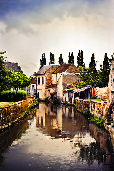 Photograph French village by Christer Häggqvist on 500px