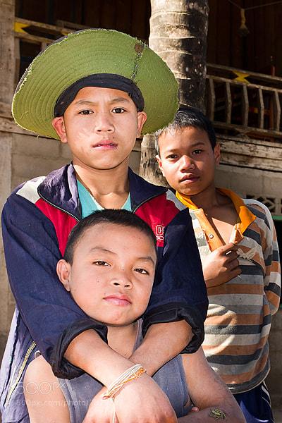 Photograph Lao boys by Christer Häggqvist on 500px