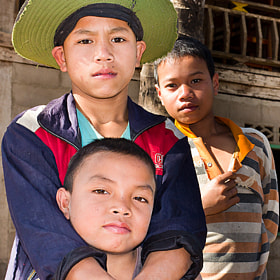 Lao boys by Christer Häggqvist (chrstr)) on 500px.com