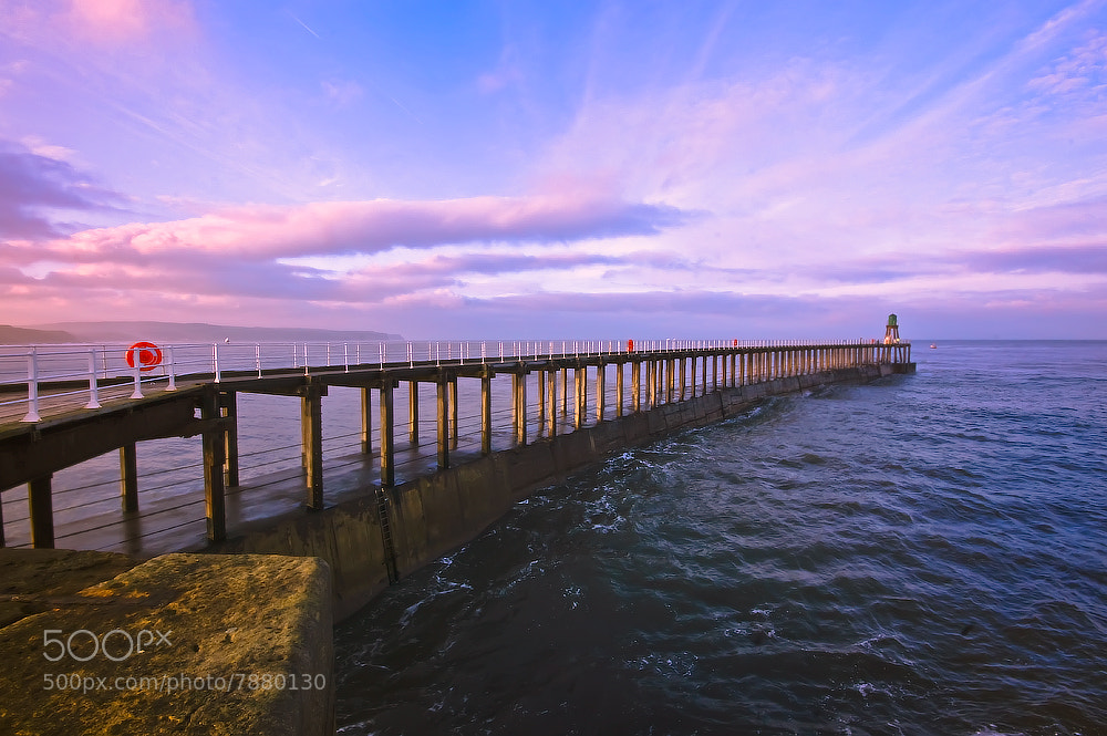 Photograph Whitby Pier by Neil Cherry on 500px