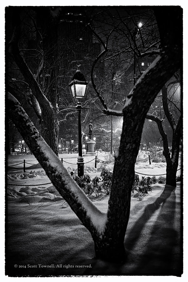 Photograph City Hall Park by Scott Townell on 500px