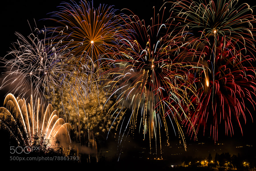 Photograph fireworks by Gianluca Pisano on 500px