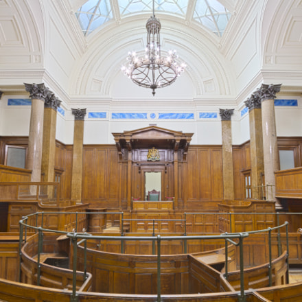 St Georges Hall Court Room