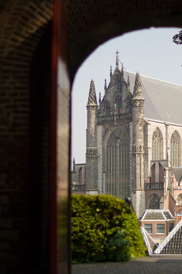 Photograph Leiden seen from different perspective by Wesley Guijt on 500px