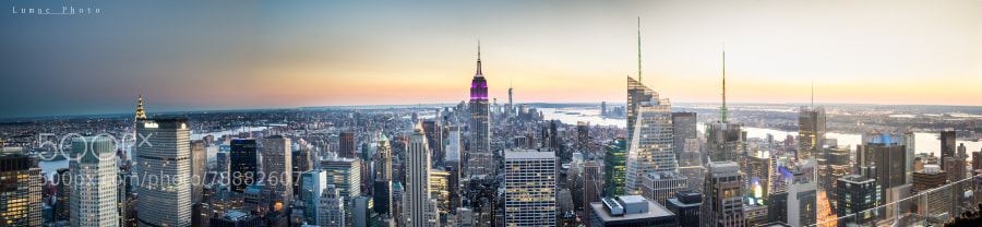 Photograph New-york city panorama by Laurent LEO on 500px