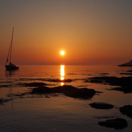 Sunrise at Reculver