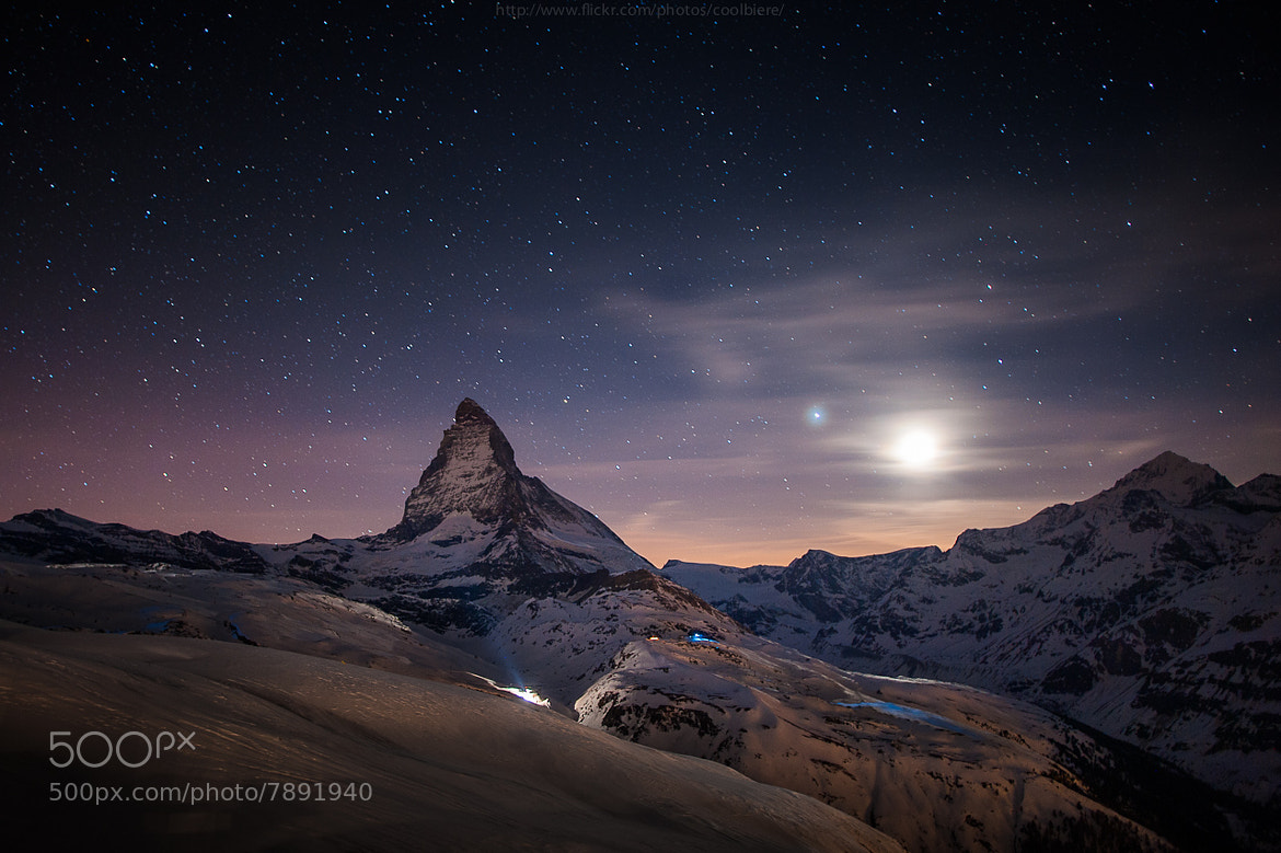 Photograph Moonlight and Toblerone by Coolbiere. A. on 500px