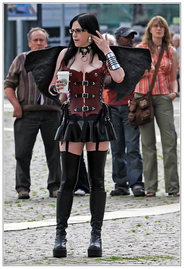 Photograph Ordinary People vs. Gothic VIII by Klaus Wiese on 500px