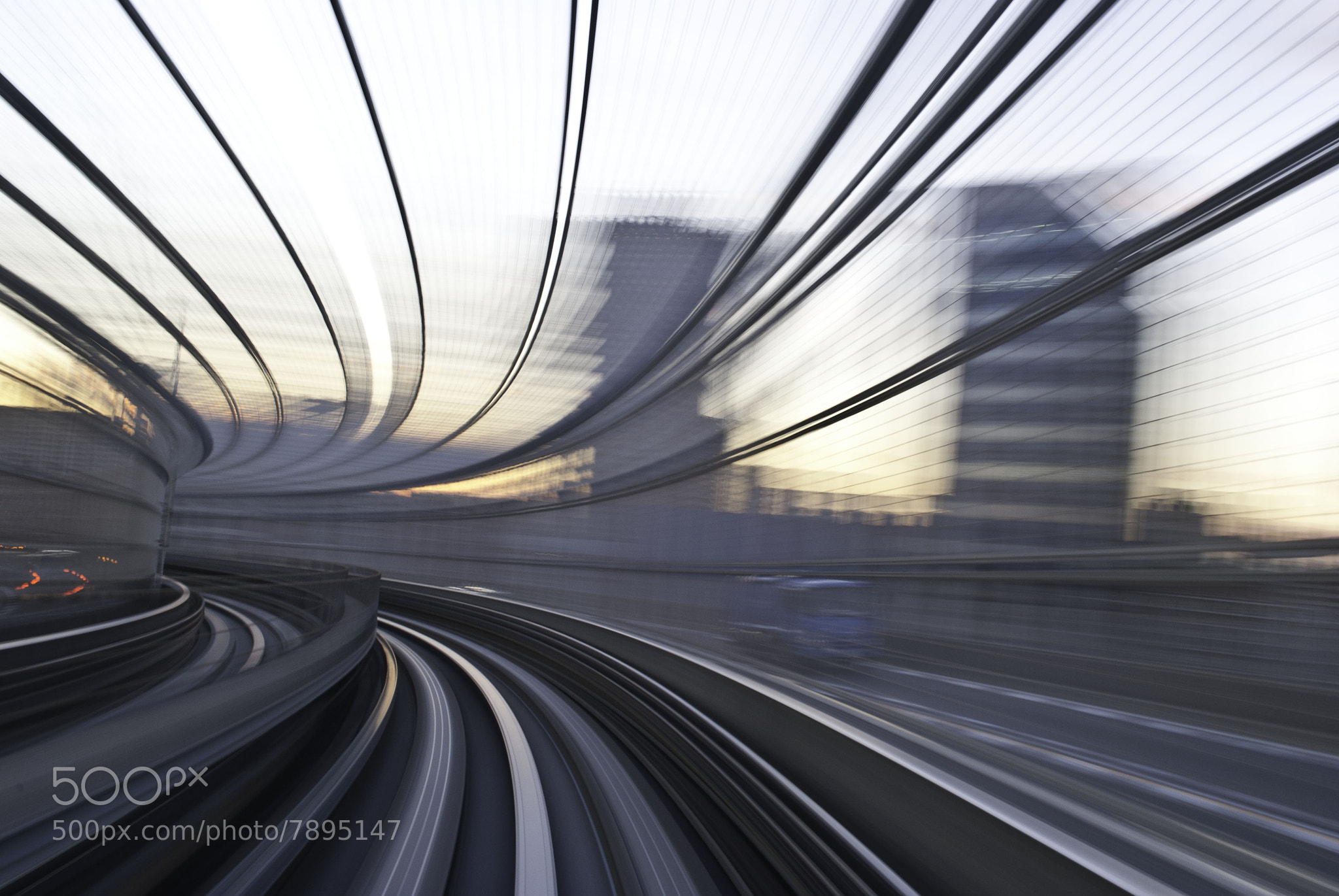 Photograph Yurikamome Line in Tokyo by Teddy  on 500px