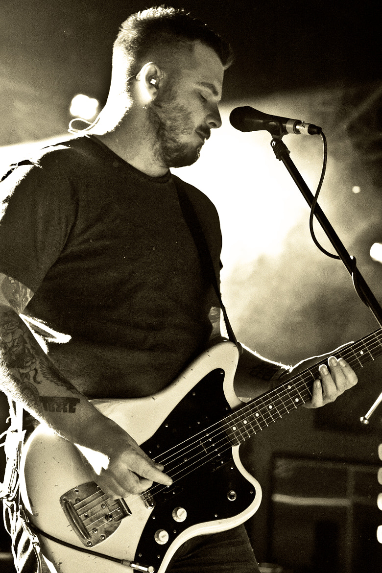 Photograph Dustin Kensrue - Thrice by Tyler N on 500px