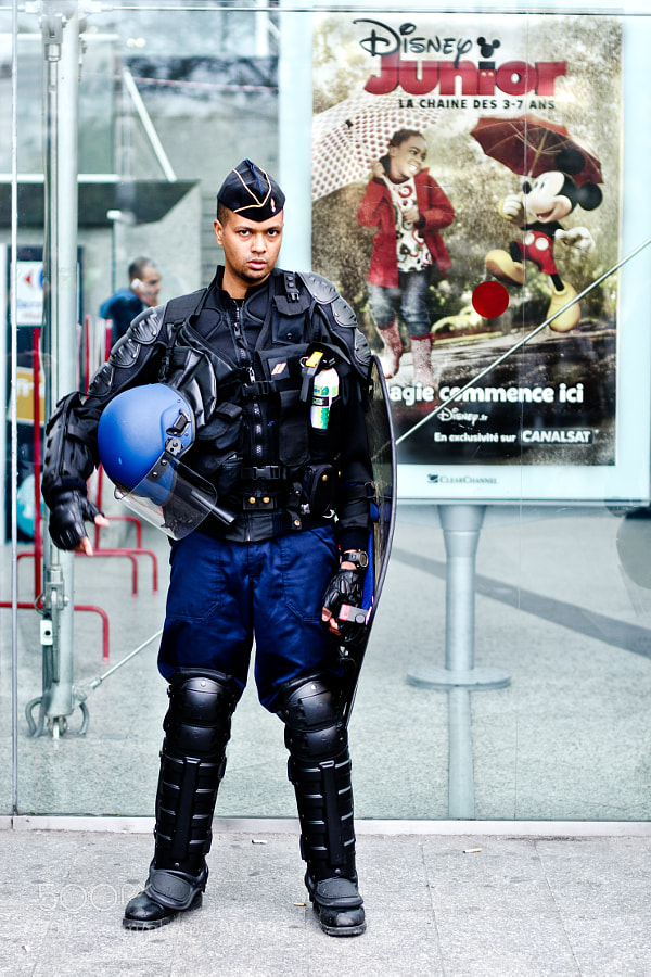 Photograph The Cop with Mickey. by Giorgio Savona on 500px