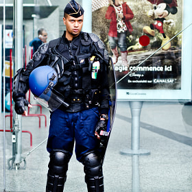 The Cop with Mickey. by Giorgio Savona (giorgiosavona)) on 500px.com