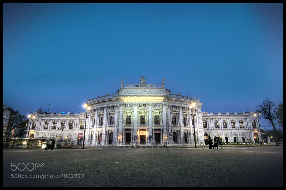 Photograph Burgtheater Wien by Andreas Gessl on 500px