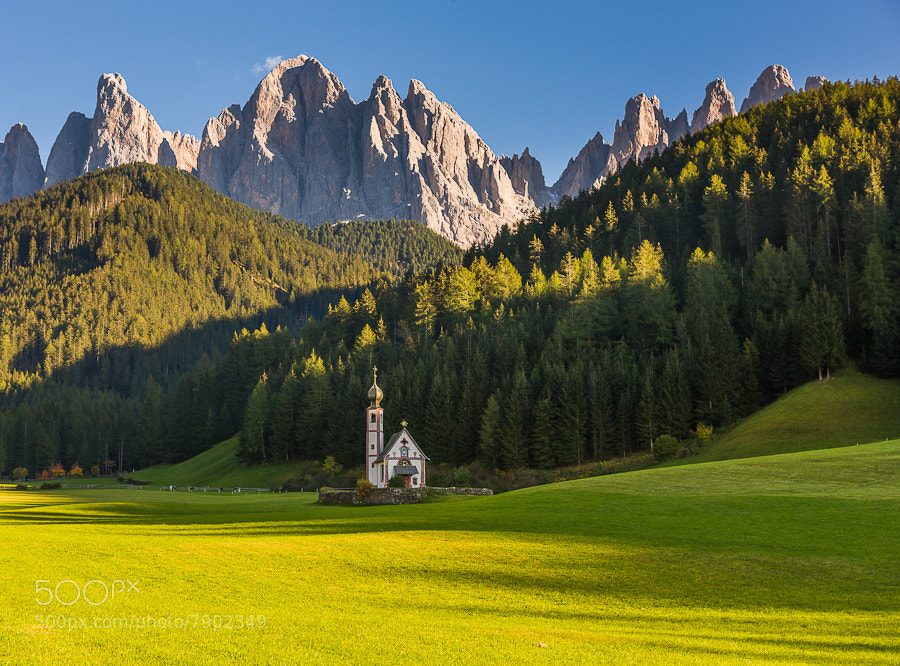 Photograph Santa Maddalena and Chapel by Hans Kruse on 500px