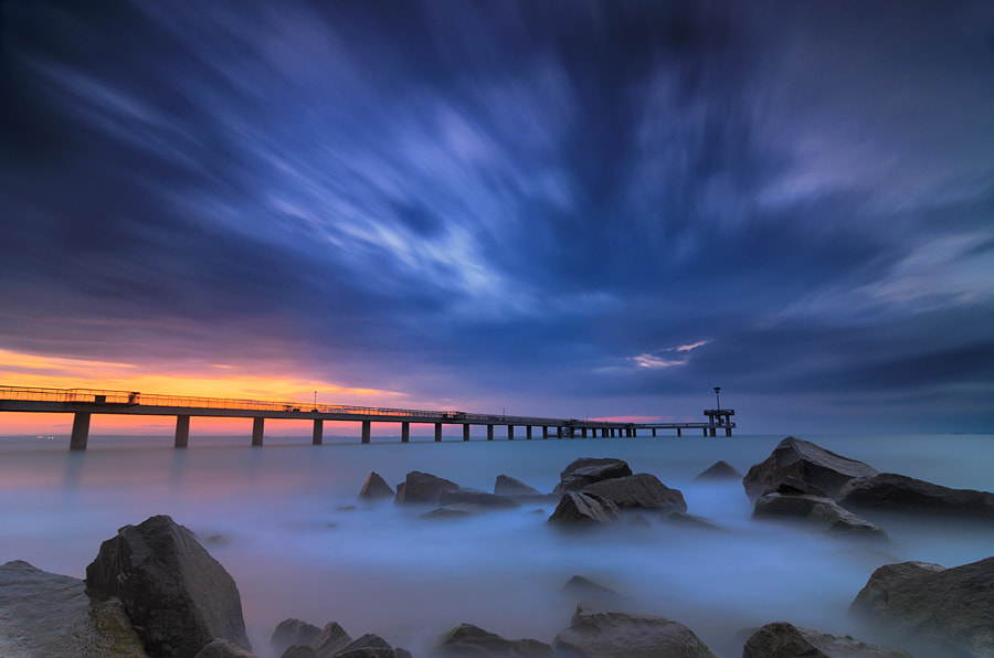 Black sea- blue skies by Baltas Guilkos on 500px.com