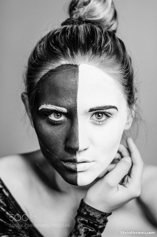 Photograph soul dualism by Tali  Å on 500px