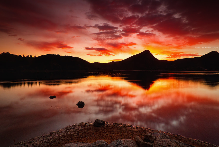 Photograph Fire Of Fall by John De Bord Photography on 500px