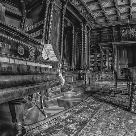 Castle Nádasdy - Library