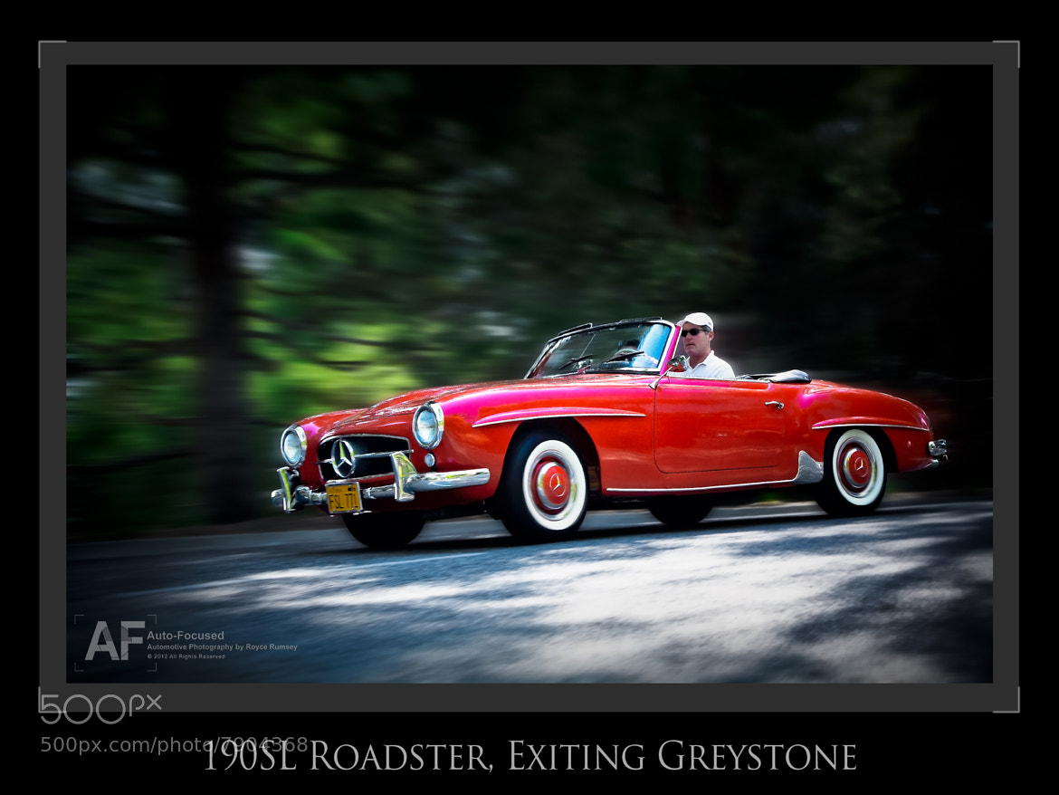 Photograph A late Spring Sunday afternoon jaunt in a 190SL... by Royce Rumsey on 500px