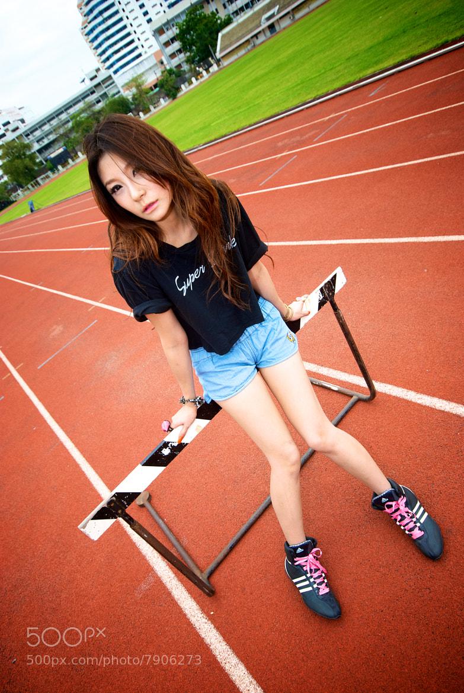 Photograph SPORT GIRL 2 by Wanutsara Wongsamut on 500px