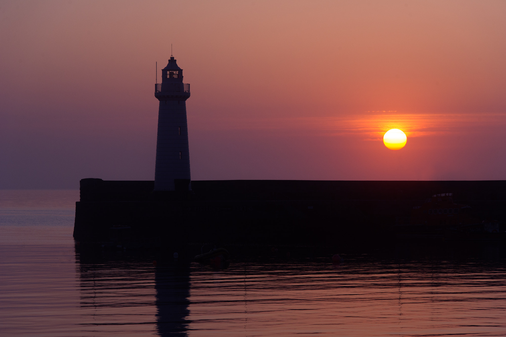 Photograph Donaghadee Harbour at Sunrise by Adam Shaw on 500px