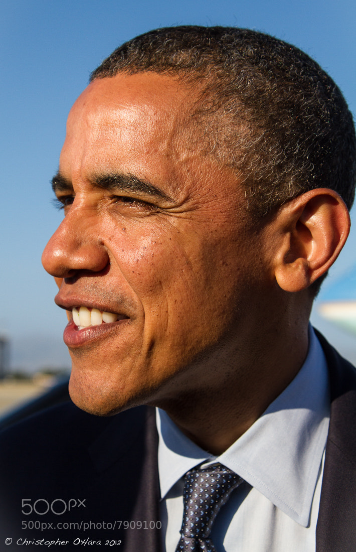 Photograph President Obama by Christopher O'Hara on 500px