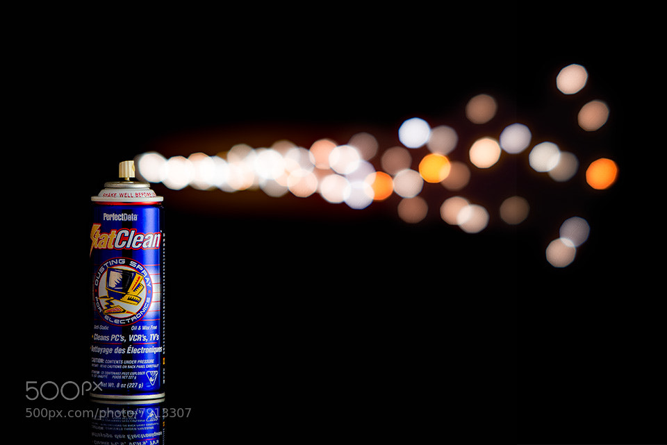 Photograph Bokeh Spray by Nader B. on 500px