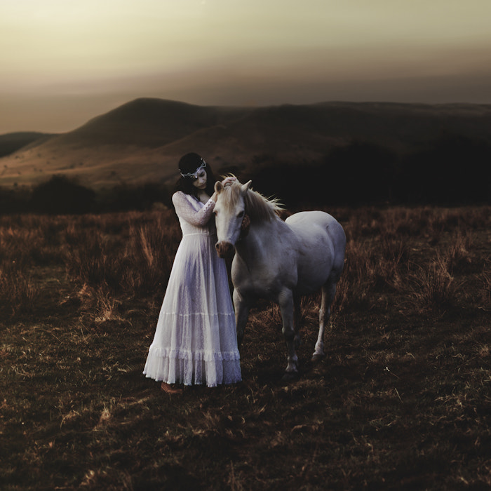 Photograph the girl and the mountain horse by Rosie Anne Prosser on 500px