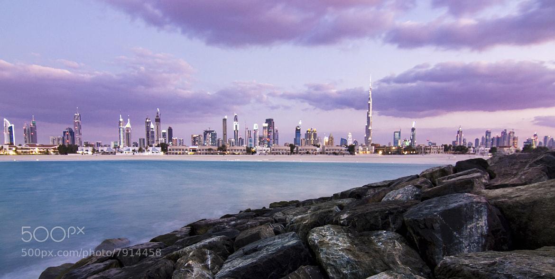 Photograph Dubai Skyline by Eugene Santos on 500px
