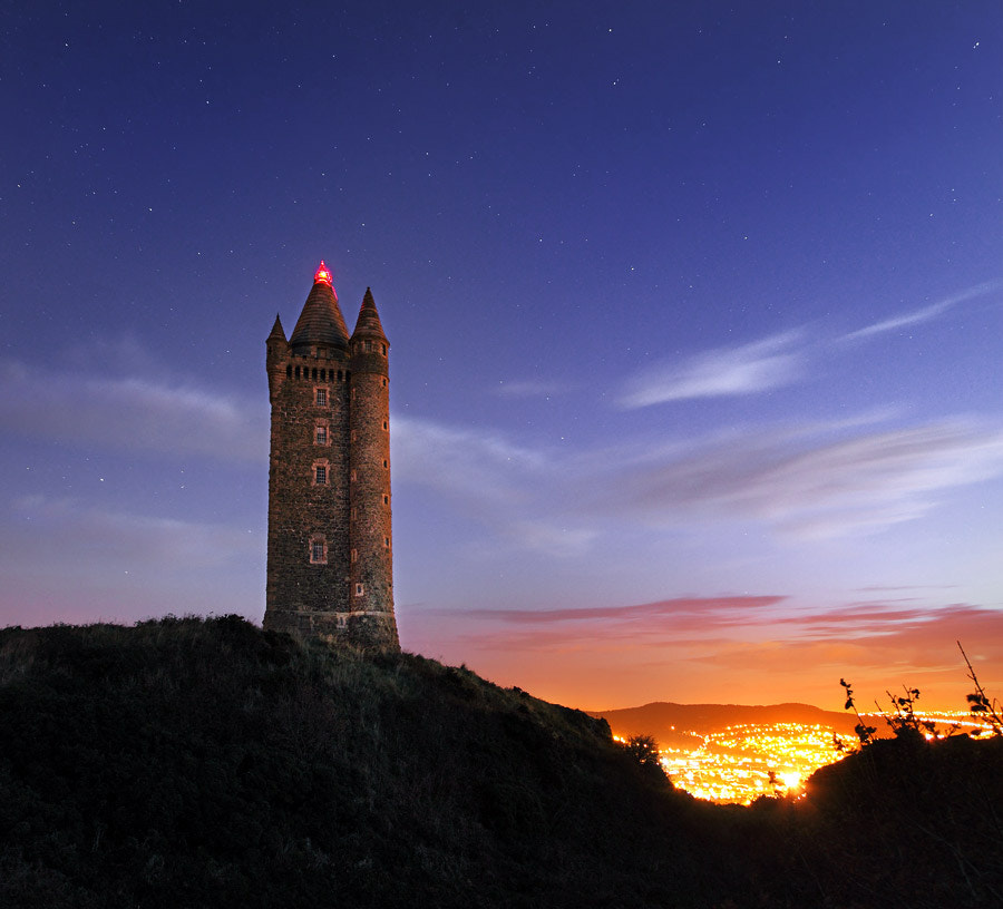 Photograph Scrabo Nights by Stephen Emerson on 500px