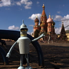 Постер, плакат: Bender in Red Square