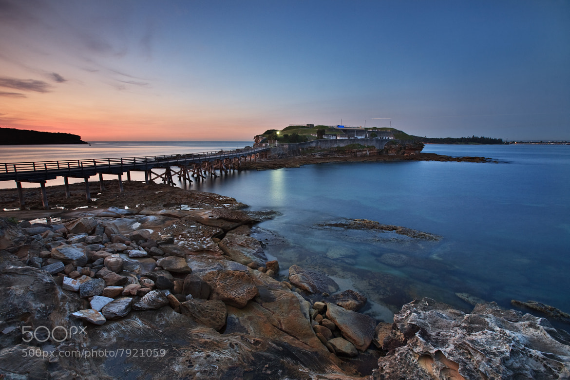 Photograph Bare Island at Dawn by Xenedis  on 500px