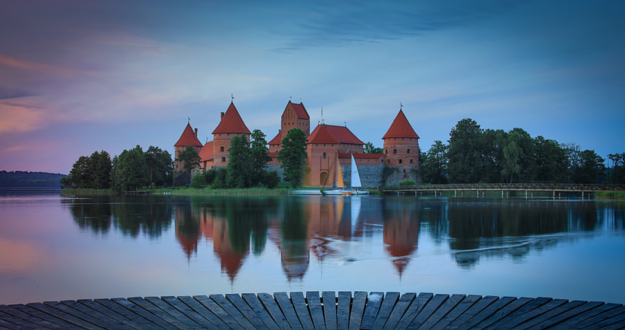 Trakai castle by Józef  Ярмолинский on 500px.com