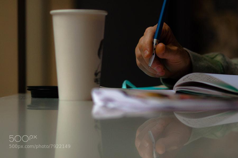 Coffee & Writing  by gevon  servo  (gservo) on 500px.com