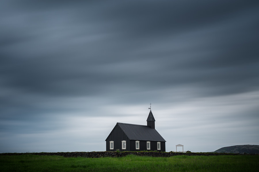 Photograph Búðir Kirkja. by Dieter Weck on 500px