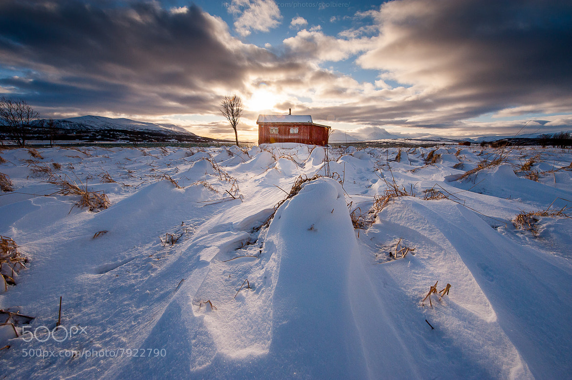 Photograph Red barn by Coolbiere. A. on 500px
