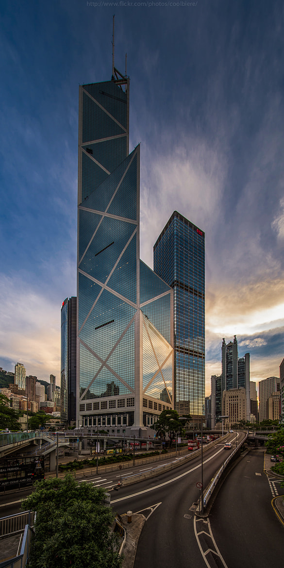 Photograph Bank of China tower by Coolbiere. A. on 500px