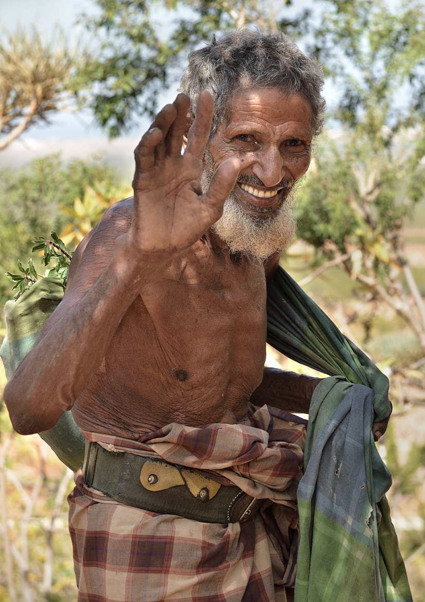 Photograph Friendly Old Man by Csilla Zelko on 500px