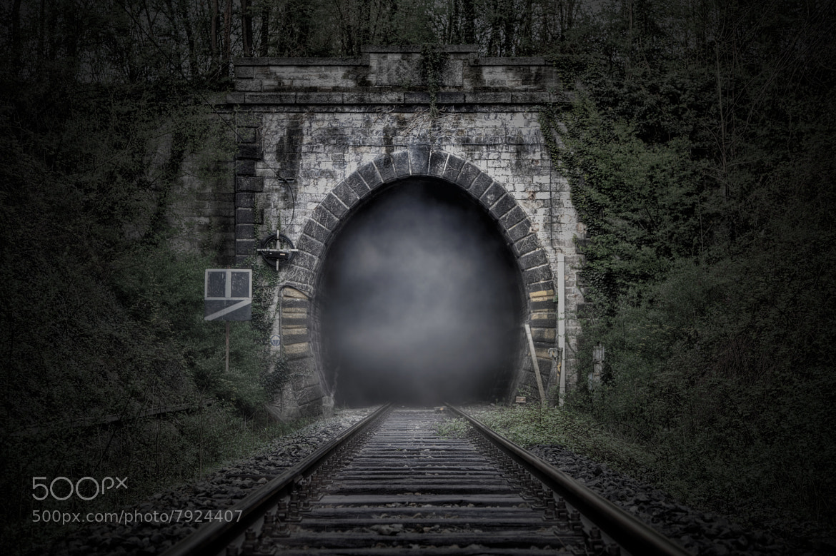 Photograph Foggy tunnel by Diego Bonacina on 500px