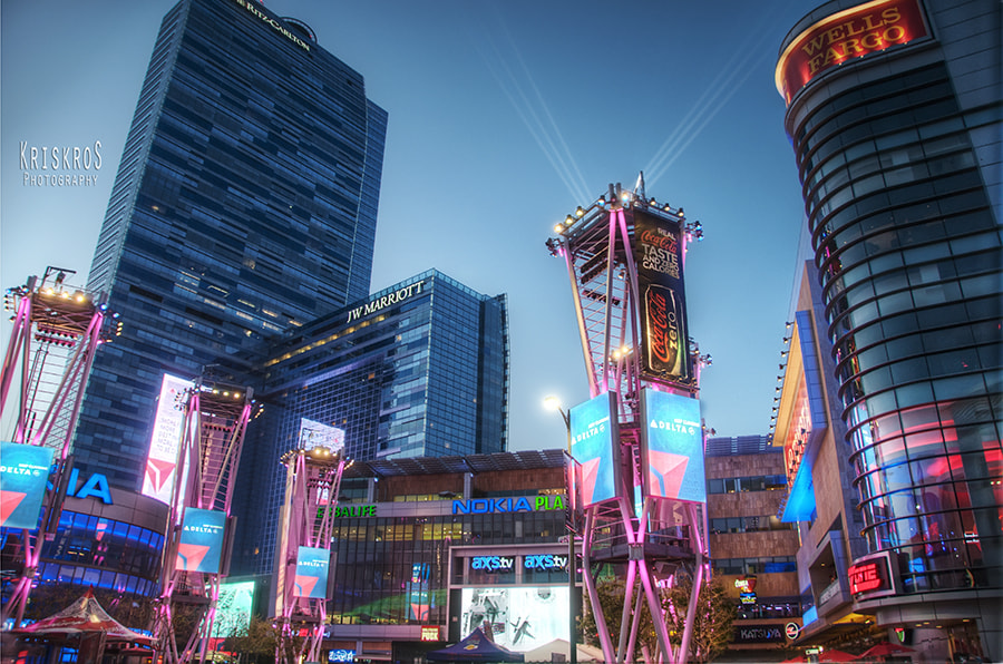 Photograph Nokia Theatre Plaza by Kris Kros on 500px