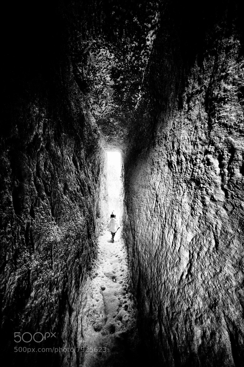 Photograph Light at the end of the tunnel by Nicole Cambré on 500px