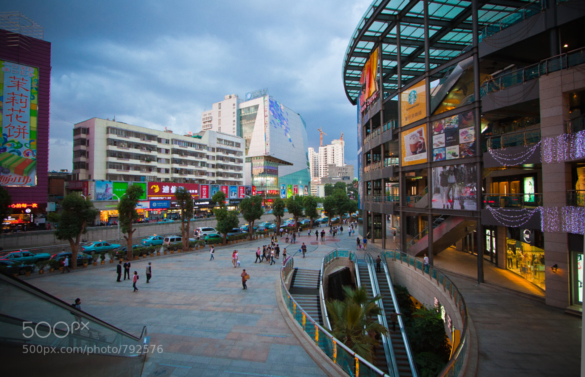 Photograph Shopping Street in Kunming by Walter Lustig on 500px